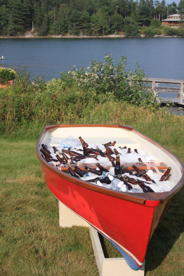 now that's a well stocked canoe